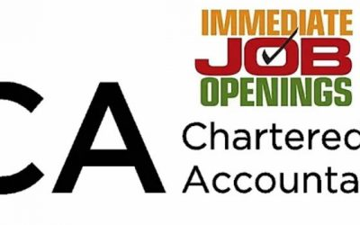 Chartered accountant Needed in East London