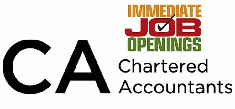 Chartered accountant Needed in Bloemfontein Kimberley East London